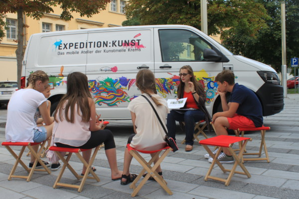 Expedition Kunst © Andrea Fraunbaum