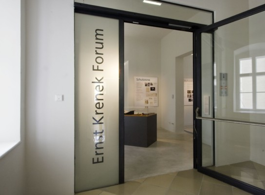 Ernst Krenek Forum © Markus Pillhofer